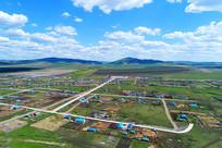 内蒙古百年边塞村庄上护林