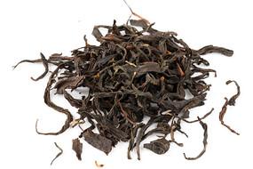 野茶茶叶白底白背景摄影图