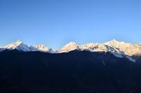 梅里雪山风景