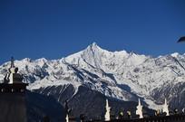 梅里雪山山峰
