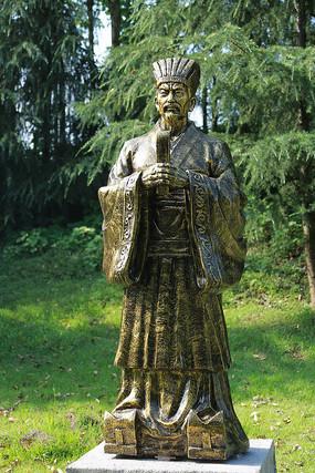 雁城公园人物雕像