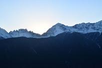 雪山日出疯狂