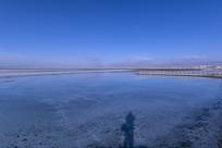 茶卡盐湖风光