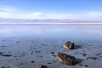 茶卡盐湖美景