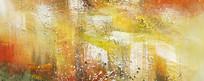 纯抽象油画