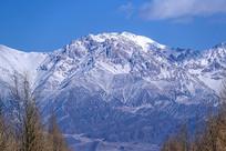 雪山雪峰风光