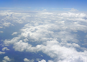 航拍 天空云层自然风景