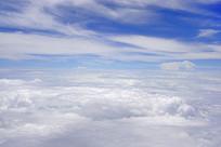蓝天白云天空