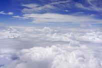 天空蓝天白云