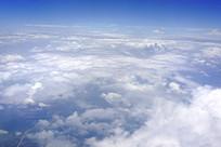 天空云层自然风景航拍