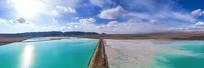 翡翠盐湖超宽幅图