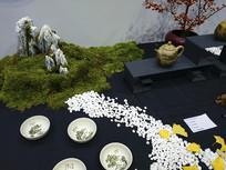 紫砂茶艺术场景