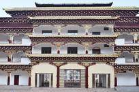 藏族风格楼房建筑