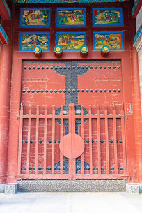古代寺院大门