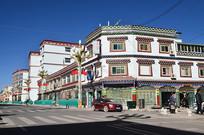 西藏街道楼房建筑