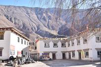 西藏乡村楼房建筑