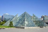 金字塔造型玻璃采光顶