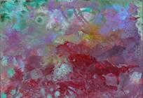 流光溢彩抽象艺术油画