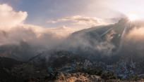 尼泊尔徒步风光