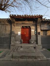 史家胡同四合院砖雕门楼