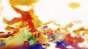现代抽象油画素材