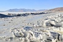 冰川湖泊风景
