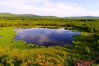 大兴安岭马兰湖风景