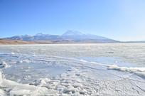 西藏冰川湖泊风景