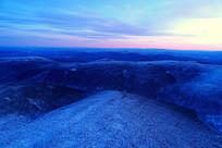 大兴安岭林海雪原朝阳