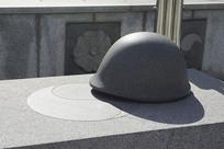 韩国水原显忠塔局部雕塑