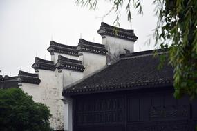 马头墙中式传统建筑