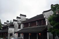 马头墙中式建筑
