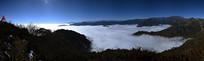 彭州户外圣地铁瓦殿山顶全景图
