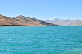 西藏羊湖风景