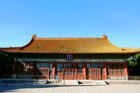 北京社稷坛中山堂建筑外景