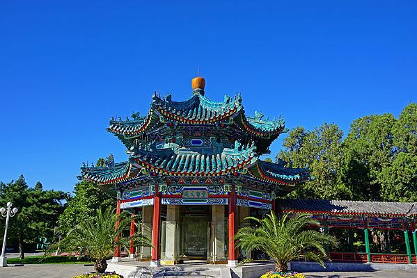 北京中山公园兰亭八柱亭