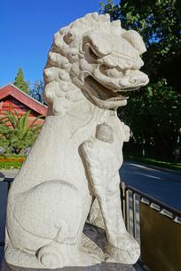 北京中山公园宋代石狮
