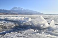 冰川湖泊风光摄影