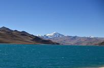 高山羊湖风景