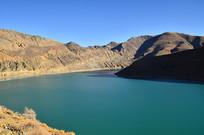 高原湖泊风景
