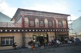 西藏藏区民房建筑