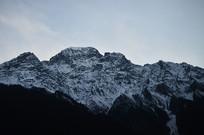 喜马拉雅山脉雪山风光摄影