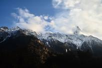 壮美的雪山