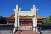 北京社稷坛祭坛汉白玉牌楼