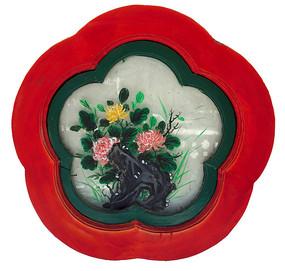 北京社稷坛中式花窗-花瓣形