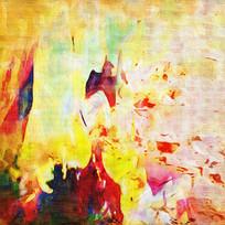 纯现代抽象绘画
