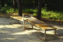 韩国公园公共健身器材仰卧起坐