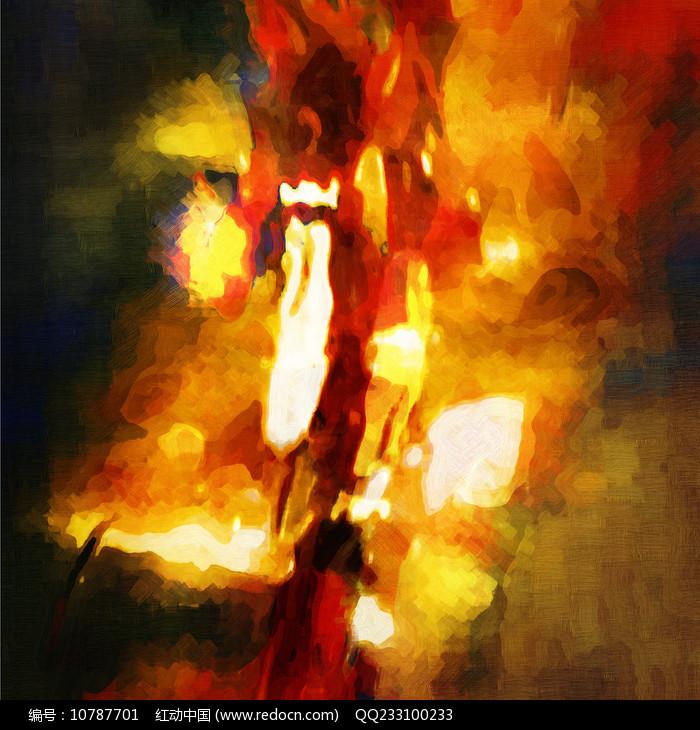 现代抽象室内装饰画图片