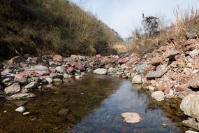 重庆巫山楚阳河淙淙泉水