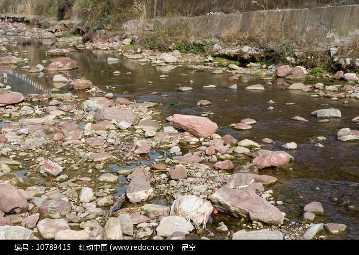 重庆巫山楚阳河溪流图片